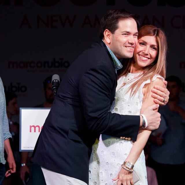 Marco Rubio wife, Jeanette Rubio, Marco Rubio family
