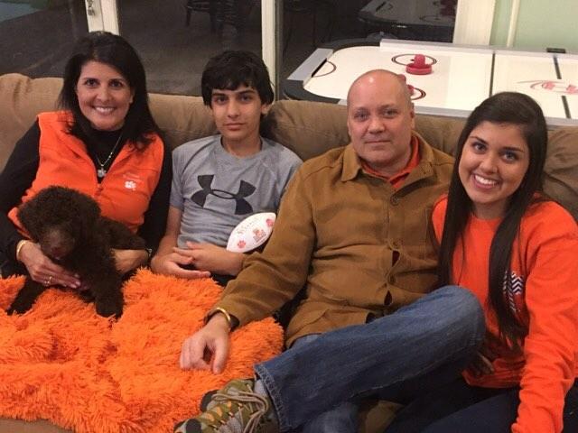 Nikki Haley family, Nikki Haley husband
