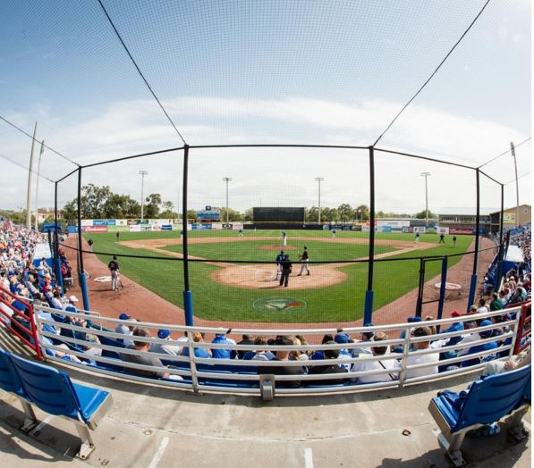 Blue Jays 2016 spring training, Blue Jays 2016 spring training schedule