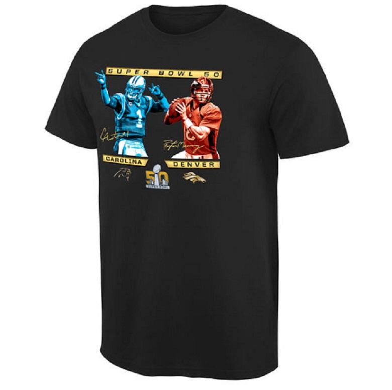 cam newton panthers super bowl 50 gear shirts
