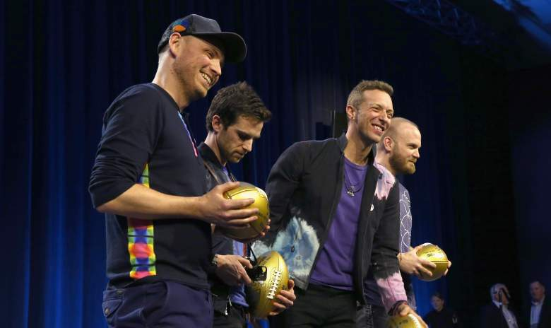 coldplay super bowl 2016, when did coldplay start