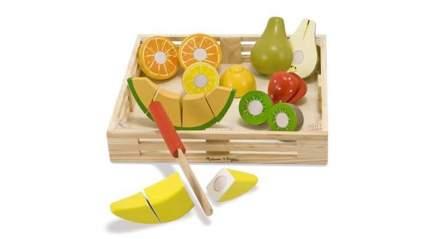 melissa and doug toys cutting fruit set