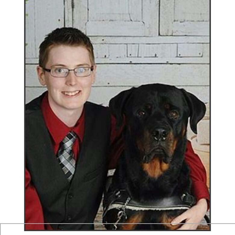 Danielle Jacobs Dog Samson