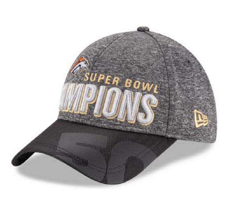 denver broncos super bowl 50 champions gear hats
