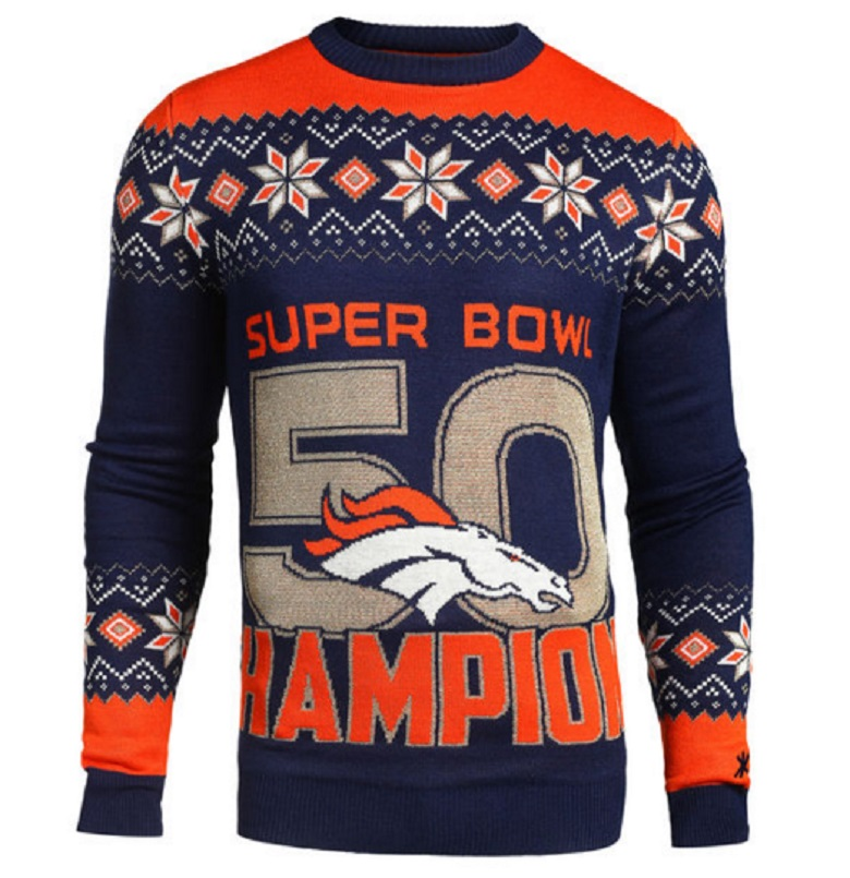 broncos super bowl 50 champions gear