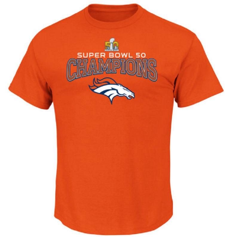 denver broncos super bowl 50 champions gear shirts