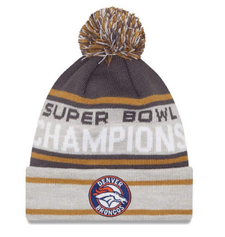 broncos super bowl 50 gear hats