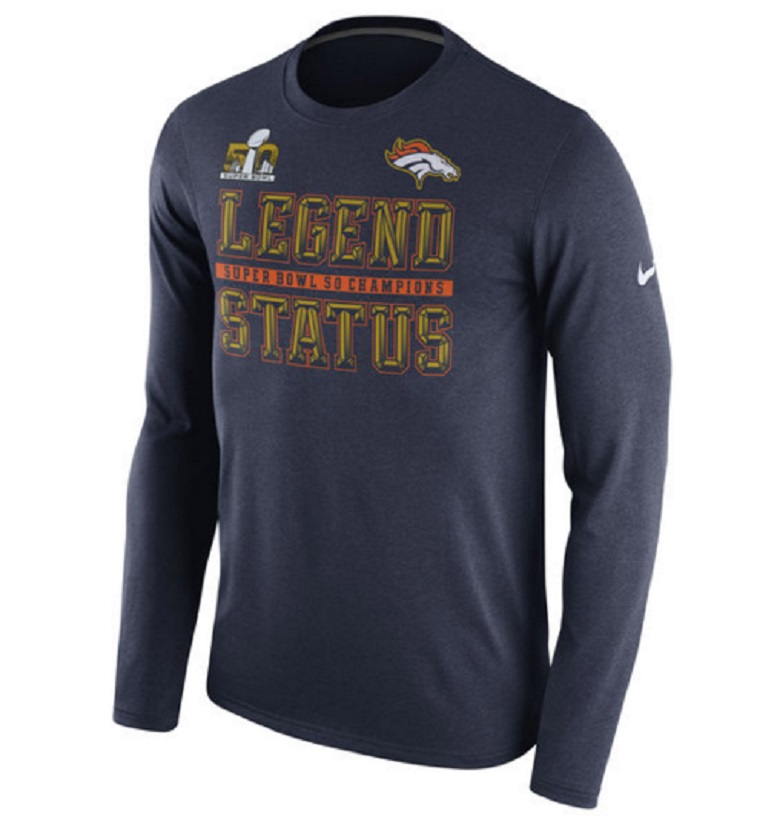 denver broncos super bowl 50 apparel shirts