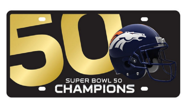 denver broncos super bowl 2016 champions gear