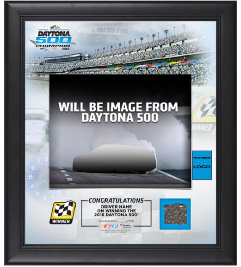 denny hamlin daytona 500 collectibles