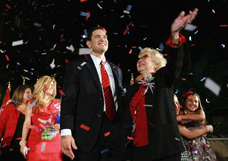 Marco Rubio and mother, Oriales Rubio, family, cuba, siblings, father