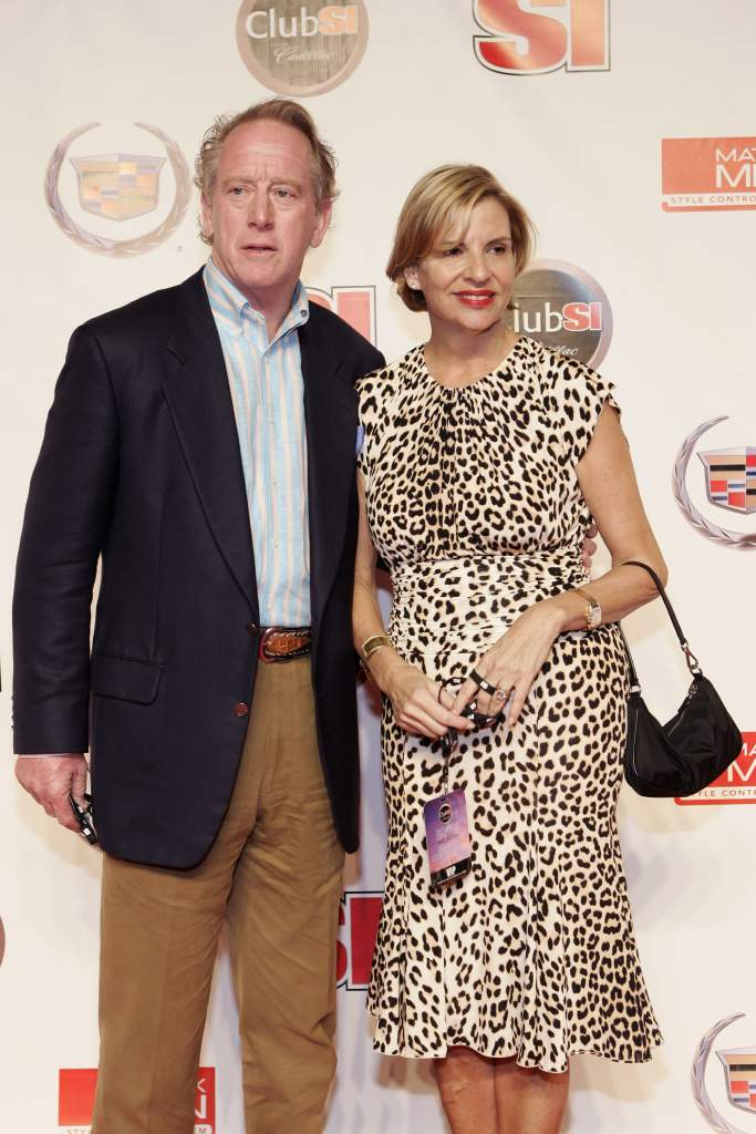 Archie and Olivia Manning are part of the first family of football. (Getty)