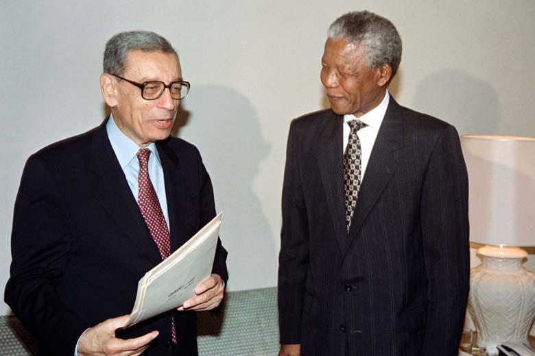 Boutros Boutros Ghali Nelson Mandela