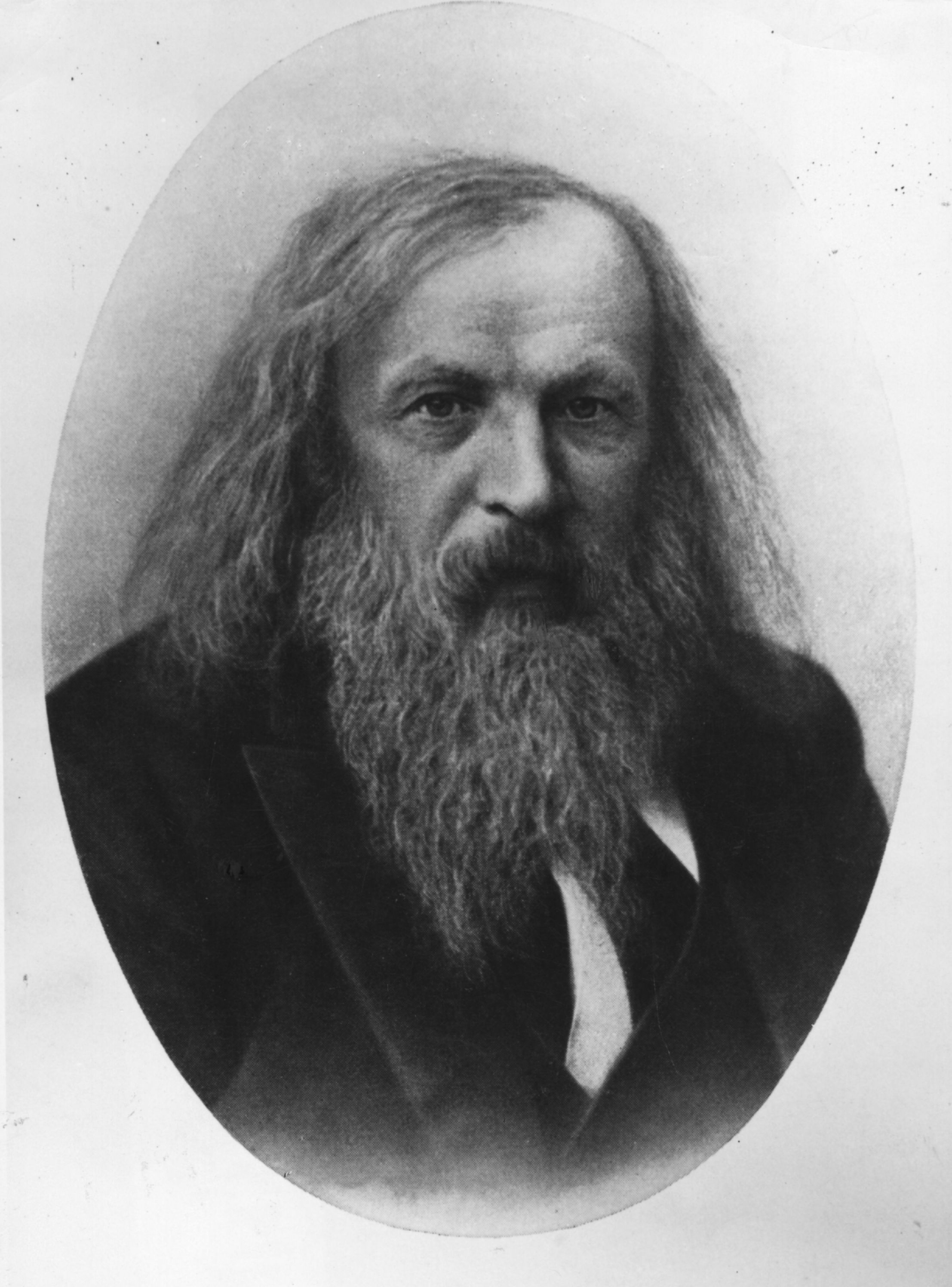 Mendeleev, circa 1984. (Getty)