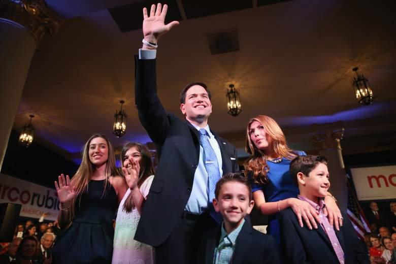 Marco Rubio kids, Marco Rubio family