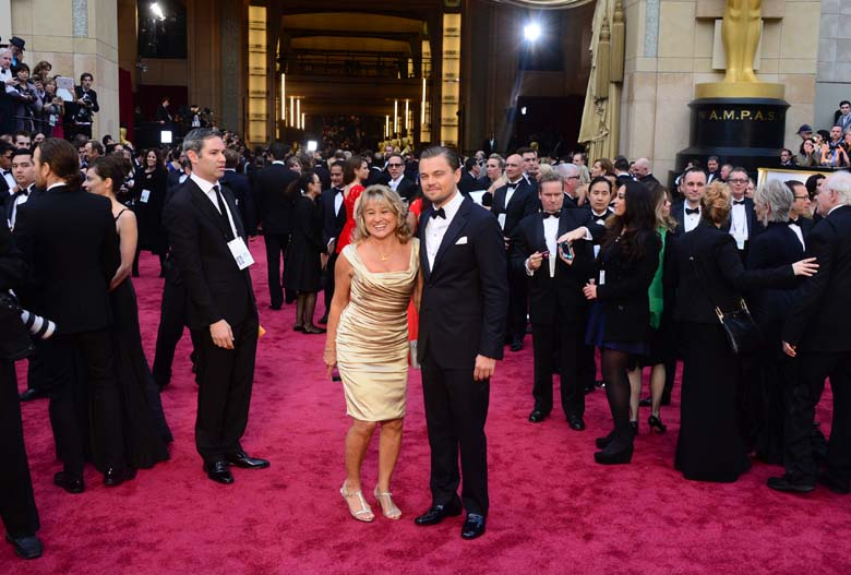 Leonardo DiCaprio mother Irmelin