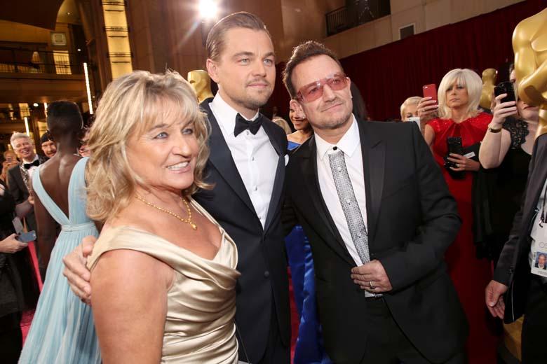 Leonardo DiCaprio Bono Photos Pictures