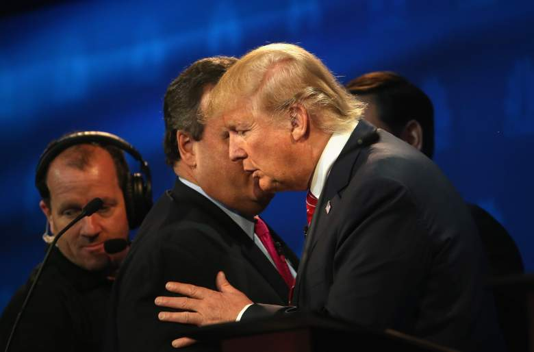 chris christie and donald trump