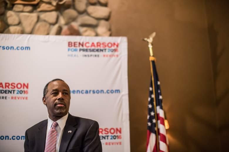 Ben Carson polls, Ben Carson break, Ben Carson New Hampshire