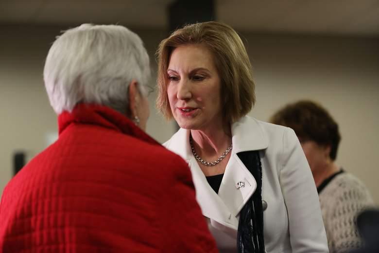 Carly Fiorina polls, Carly Fiorina New Hampshire, Carly Fiorina debate