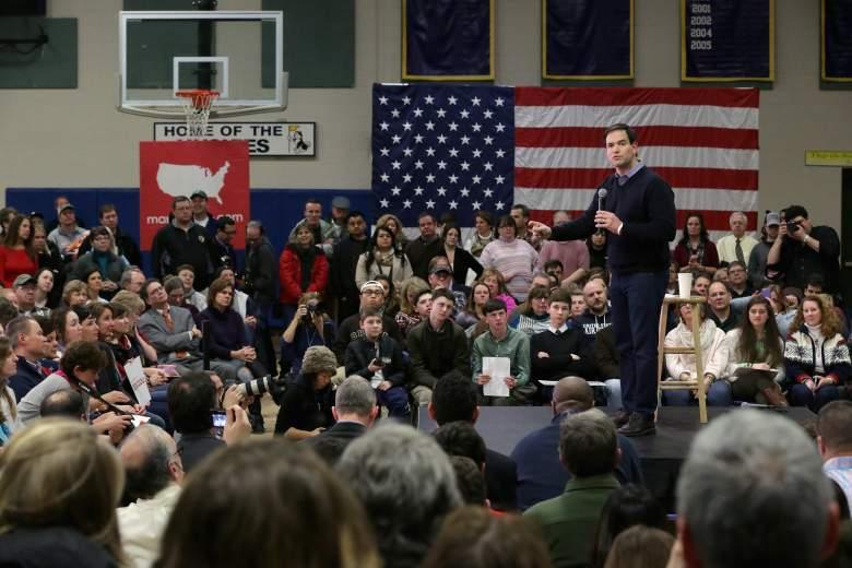 Marco Rubio debate, Marco Rubio polls, GOP debate