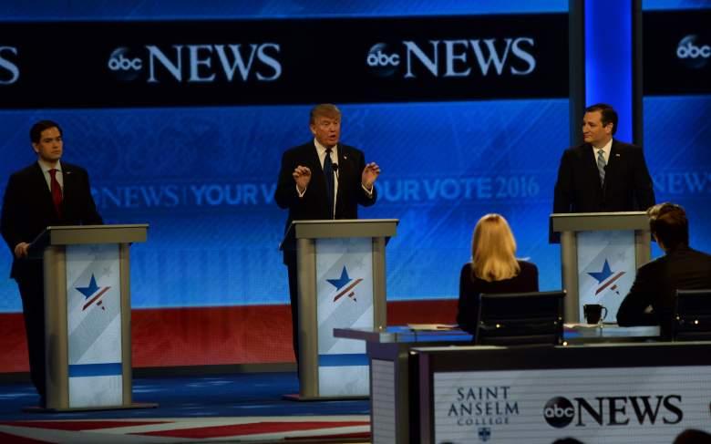 Donald Trump polls, Ted Cruz polls, GOP debate