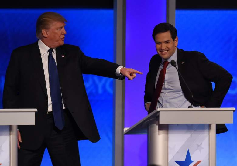 Marco Rubio and Donald Trump, GOP debate schedule, GOP debate Saturday, Next GOP debate, GOP debate South Carolina