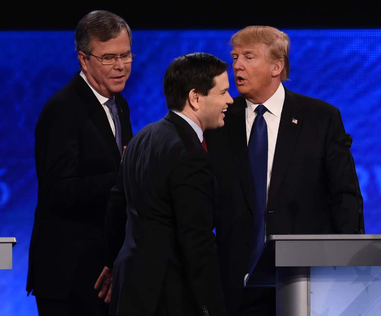 Marco Rubio debate, Donald Trump debate, GOP debate
