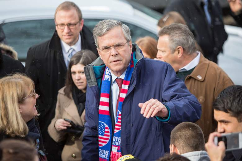 Jeb Bush polls, Jeb Bush New Hampshire, Jeb Bush drops out