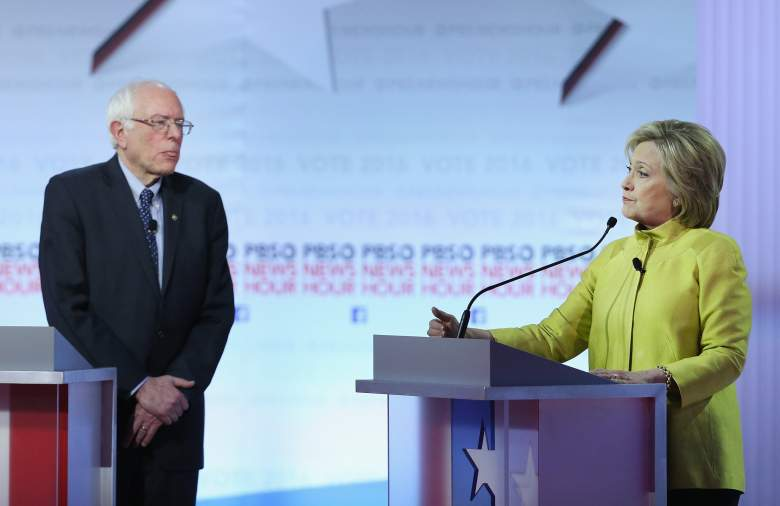 Bernie Sanders and Hillary Clinton,  democratic georgia primary polls, polling, numbers, favorite, super tuesday