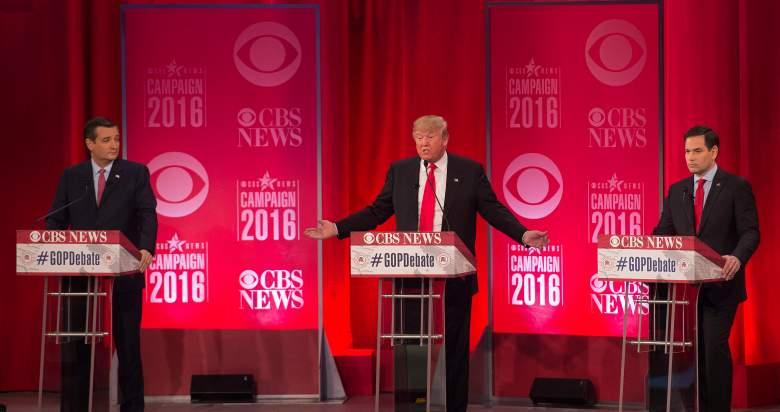 Donald Trump, Ted Cruz, Marco Rubio, nevada gop caucus, primary, polls
