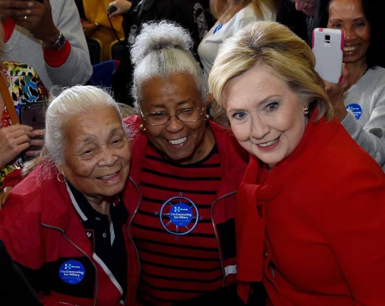 Hillary Clinton polls, Hillary Clinton Nevada, Hillary Clinton South Carolina