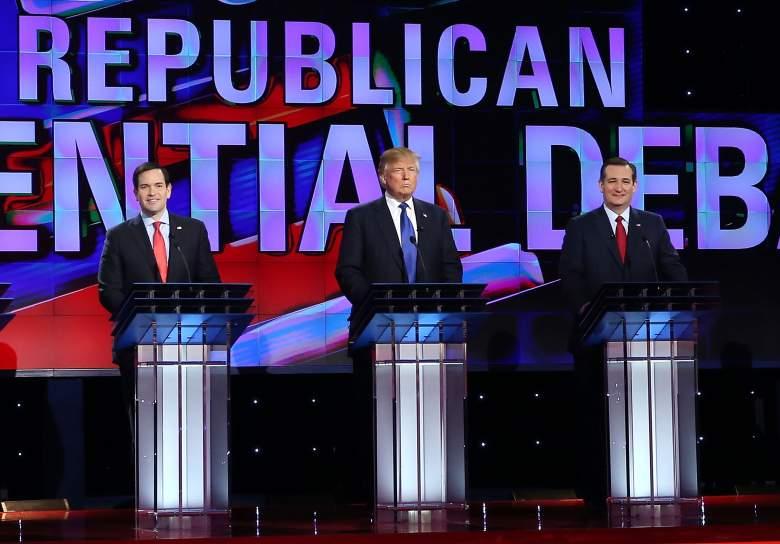 Marco Rubio and Donald Trump and Ted Cruz, polish immigrants, workers, gop debate