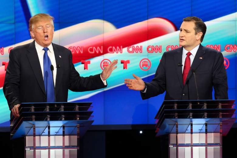 Donald Trump and Ted Cruz, GOP Texas primary, republican, when, where, date