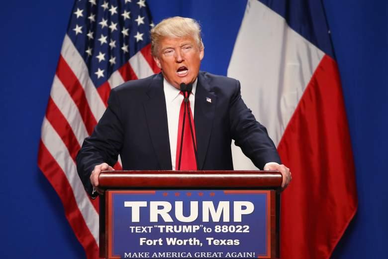 Donald Trump, Texas GOP primary, Texas Democratic primary, when, where, republican