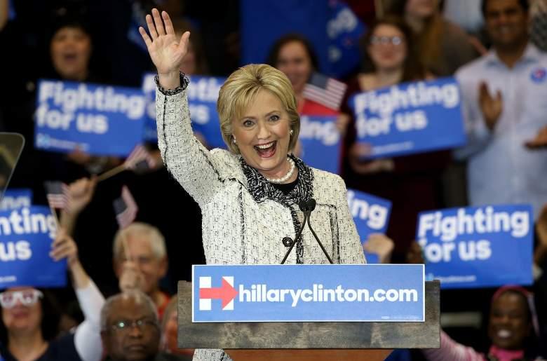 Hillary Clinton, Democratic Georgia primary, gop, republican, when, where