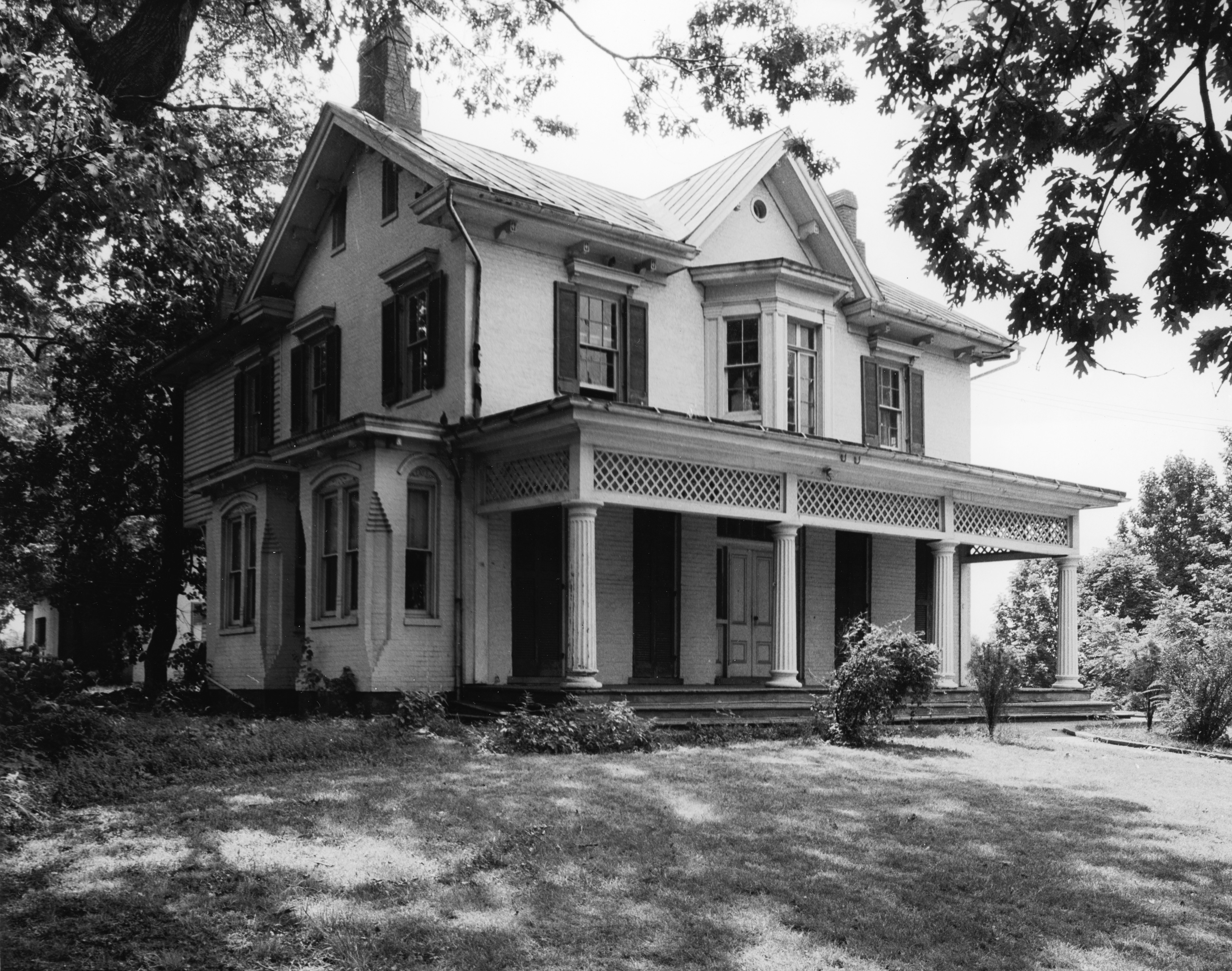 Douglass' Washington D.C. home, Cedar Hill. (Jack Rottier/National Park Service/U.S. Dept. of the Interior/Hulton Archive/Getty Images)