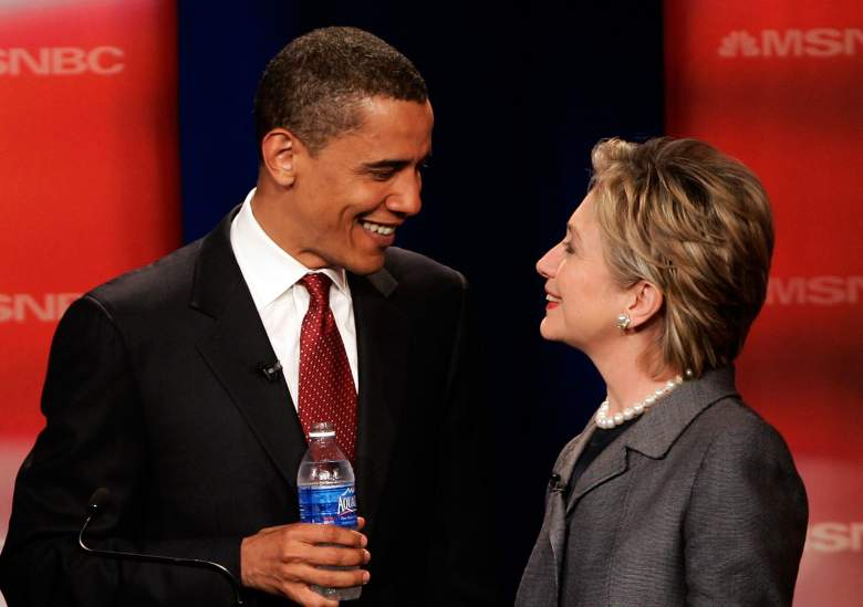 Barack Obama and Hillary Clinton, south carolina democratic primary, when, where, location, date