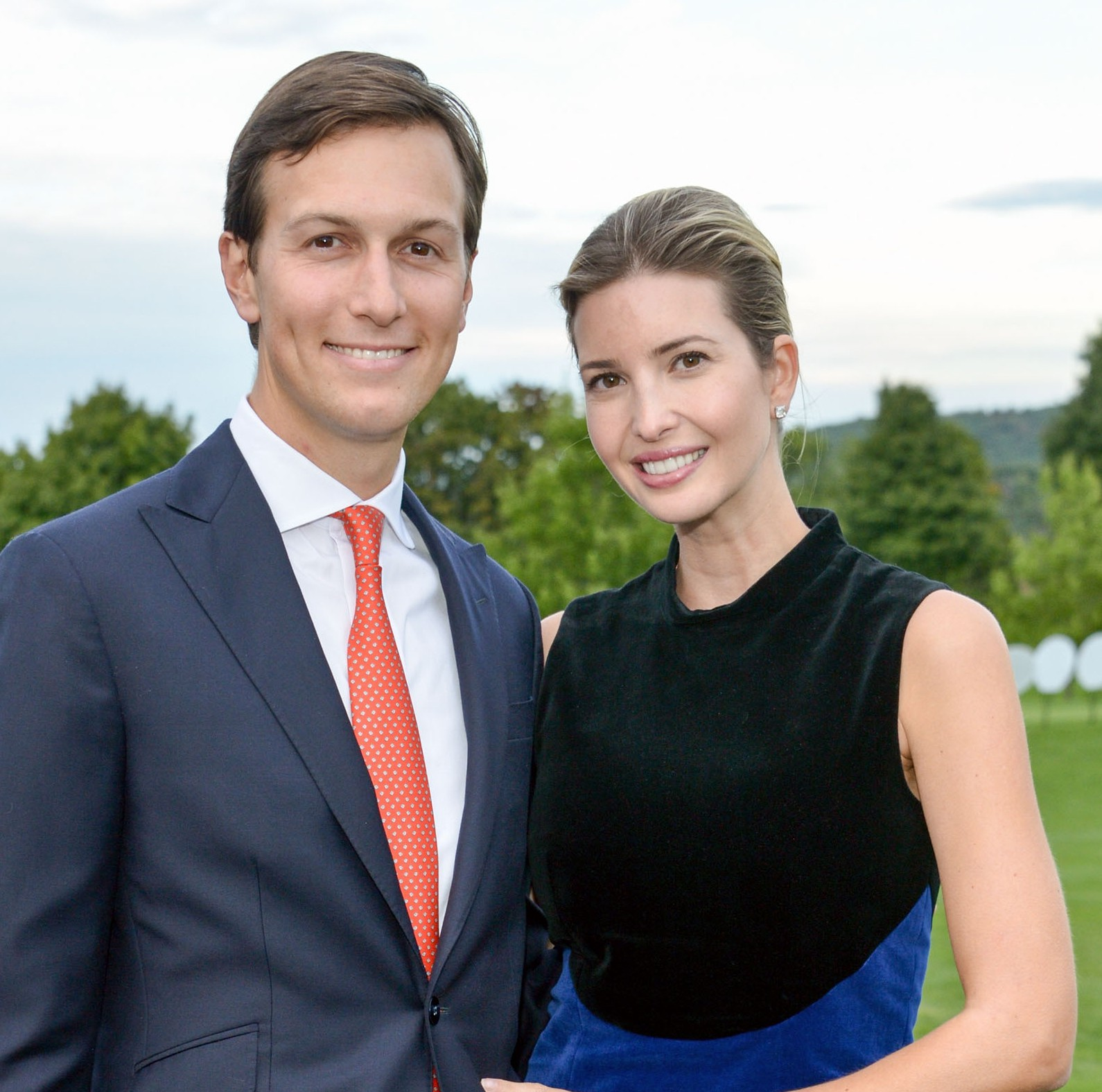Jared Kushner and Ivanka Trump attend the 9th Annual Eric Trump Foundation Golf Invitational Auction & Dinner at Trump National Golf Club Westchester on September 21, 2015 in Briarcliff Manor, New York.  (Getty)