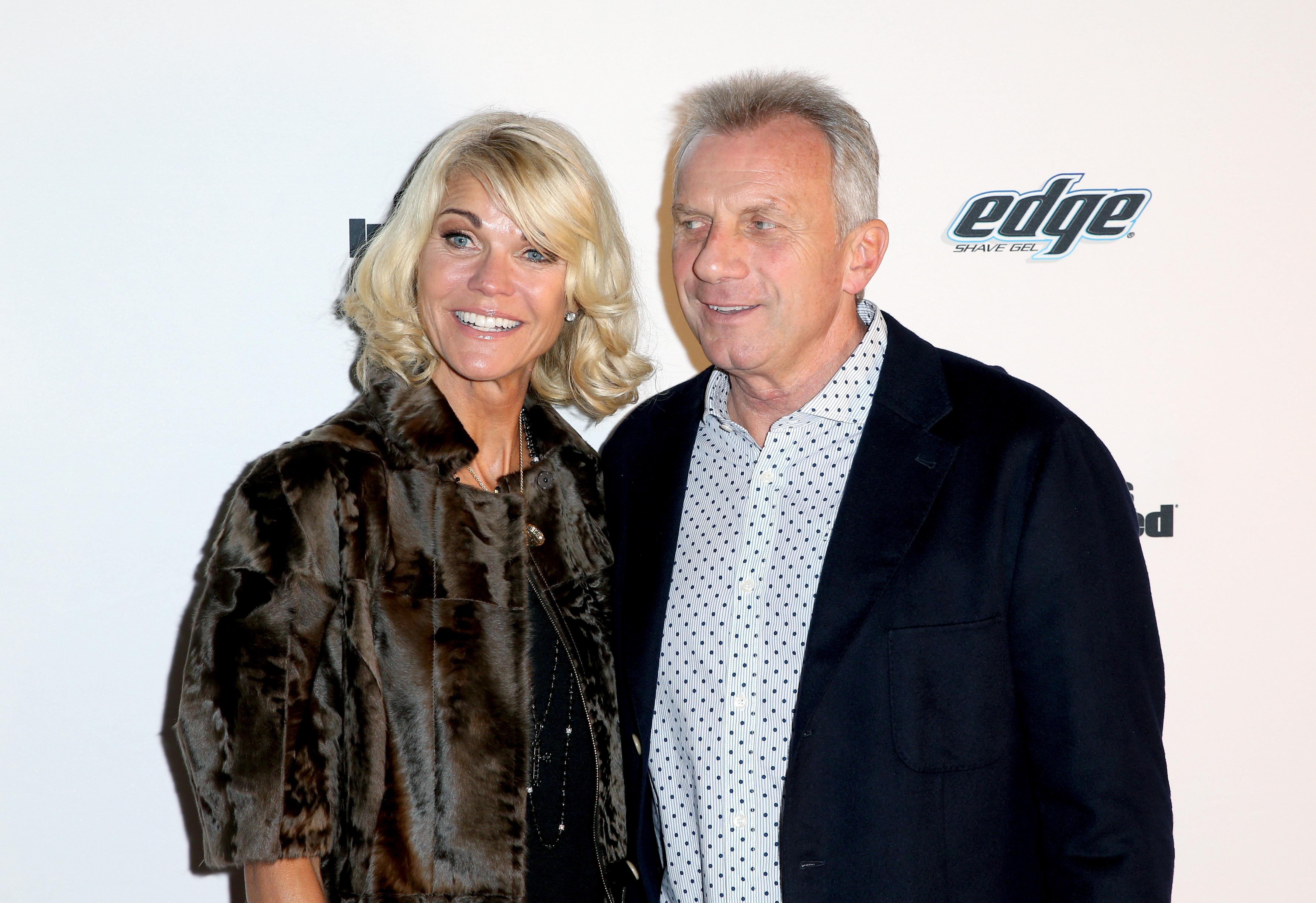 Joe Montana with his wife, Jennifer Montana. (Getty)