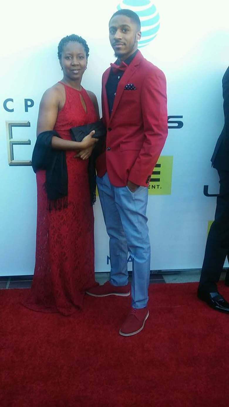 Marshawn McCarrel NAACP Image Awards