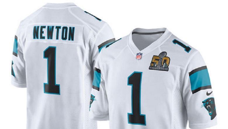 cam newton panthers super bowl 50 gear apparel