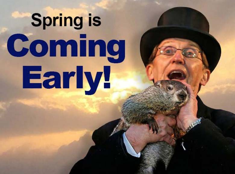 groundhog day memes, early spring memes