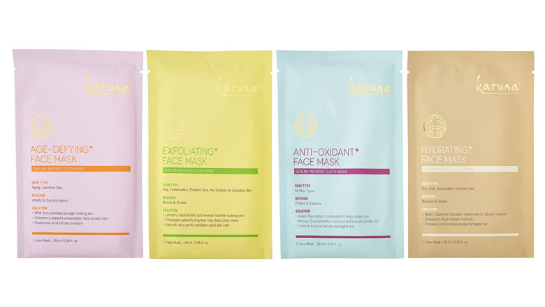 karuna korean sheet mask set