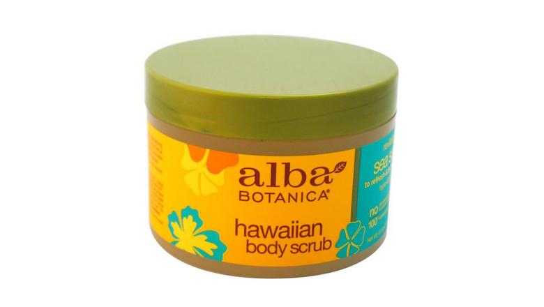 alba botanica hawaiian sea salt scrub