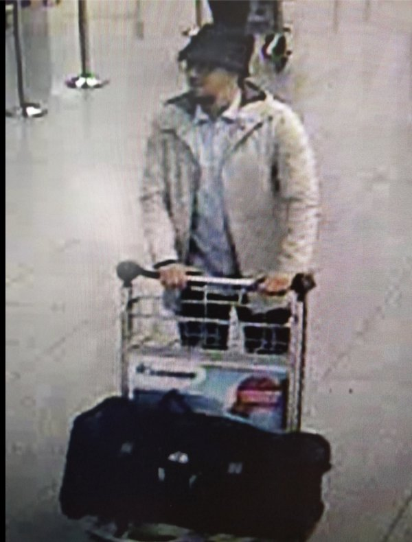 Police are searching for this man in connection to the airport bombings.