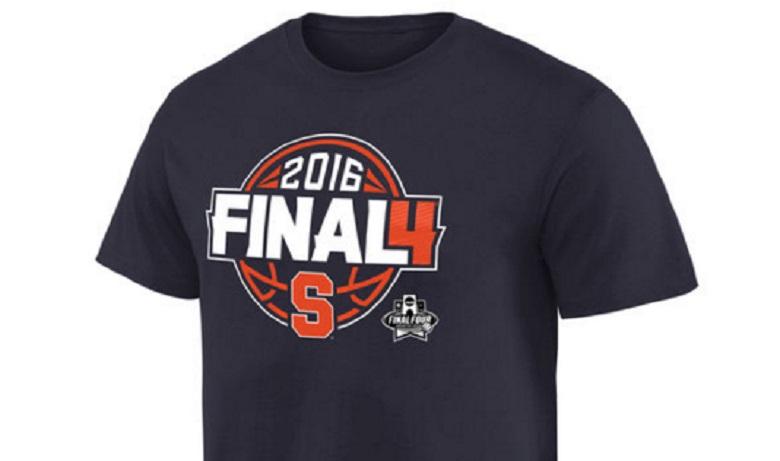 syracuse orange final four 2016 gear