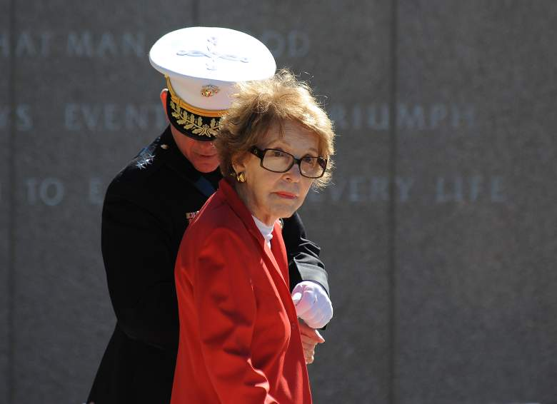 nancy reagan funeral