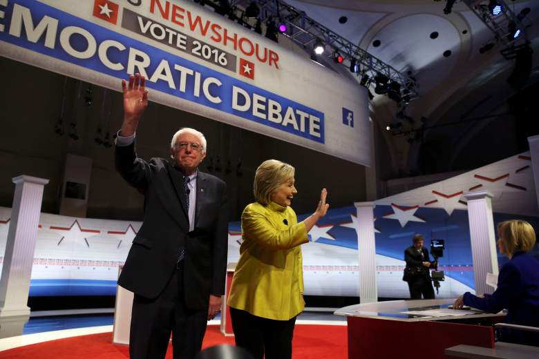 Bernie Sanders and Hillary Clinton, super tuesday results 2016, delegates, states, polling hours