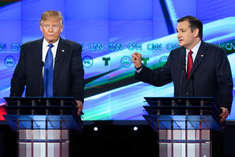 Donald Trump and Ted Cruz emerged from Super Tuesday as the top two GOP candidates. (Getty)